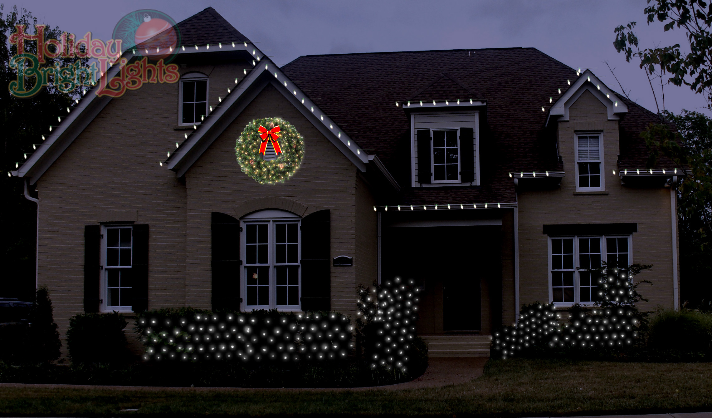 nashville holiday lighting with c9 led energy efficient outdoor christmas lights